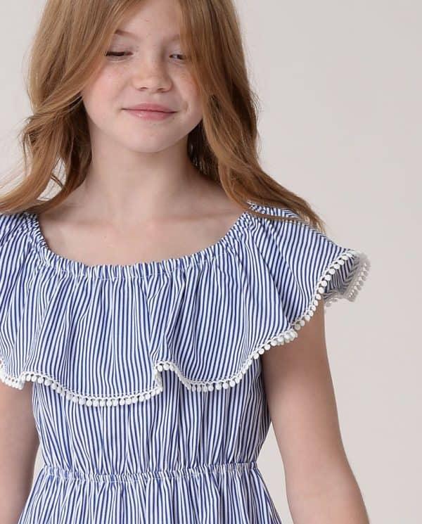 Mini Molly Dress Navy.5
