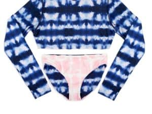 Shade Critters Reversible Rash Guard Navy.Pink