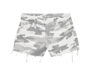 Tractr Girls Grey Camo Shorts